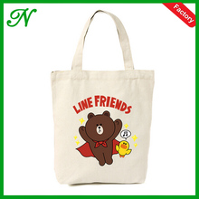 fasion rpoduction Customized cotton canvas tote bag,advertising paper bag
