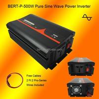 High Quality 12V/24VDC to 110V/220VAC 500W Pure Sine Wave Power Inverter Used for Small Fridge on Motor Homes