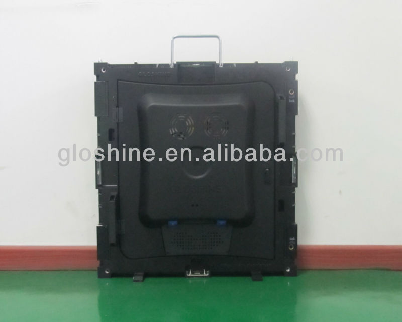 Gloshine P6 rental indoor LED screen,Gloshine patent design die-casting aluminum cabinet