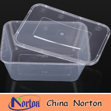 750ml plastic clear/transparent micro food container/box NTPC- 159B