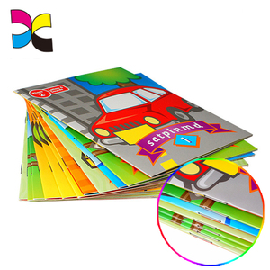 Alibaba guangzhou supplier customized High quality spiral wire binding book printing