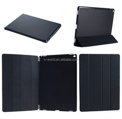 Wholesale price colorful heat press super slim smart leather cover for Apple iPad Pro