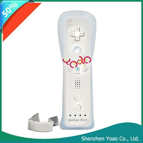 Wired Remote Controller For Wii (Built in Motion Plus)