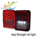 LED Rear Tail Light Red Bright J-EEP Tail Lights