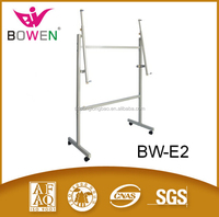 Whole sale white board whiteboard chlidren board metal stand aluminum easel for classroom school supplier