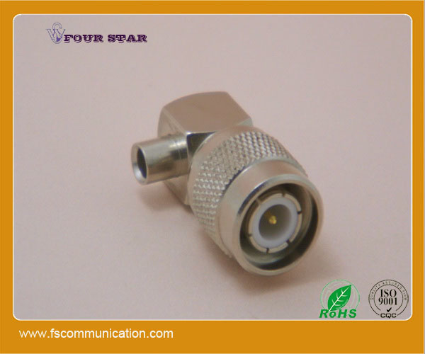 90 degree tnc plug connector for cable rg402 tnc male