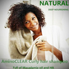 Natural Macadamia and HA ingredient best hotel branded shampoo for curly hair