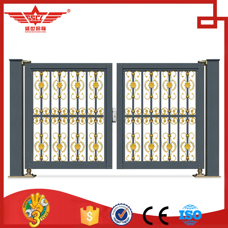Factory Direct Sale Exterior Villa Door Villa Garden Gate-L958C