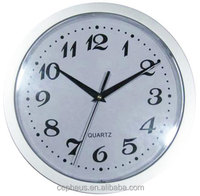 Plastic Silver 50mm Clock Fit Up Insert