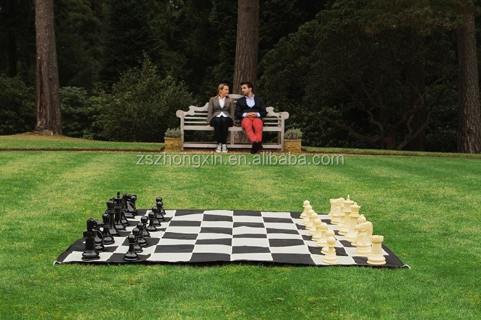 Chess Board - Standard Vinyl protable &foldable chess mat
