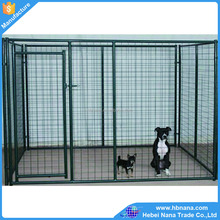 Galvanized dog kennel with welded wire mesh / latest outdoor dog kennel designs