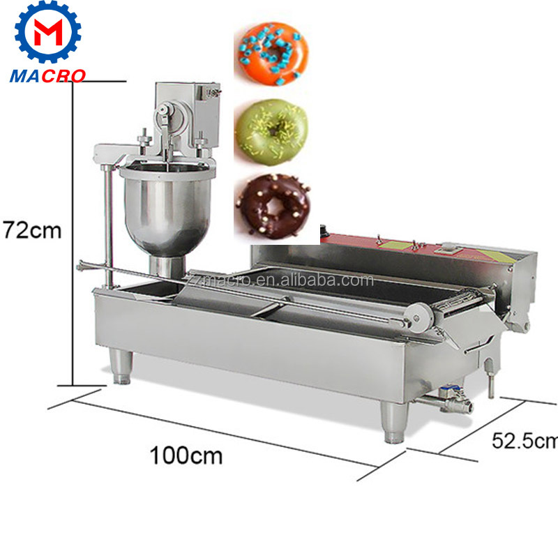 hot sale doughnut forming machine donut frying machines