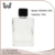 1/2 oz glass square perfume bottle