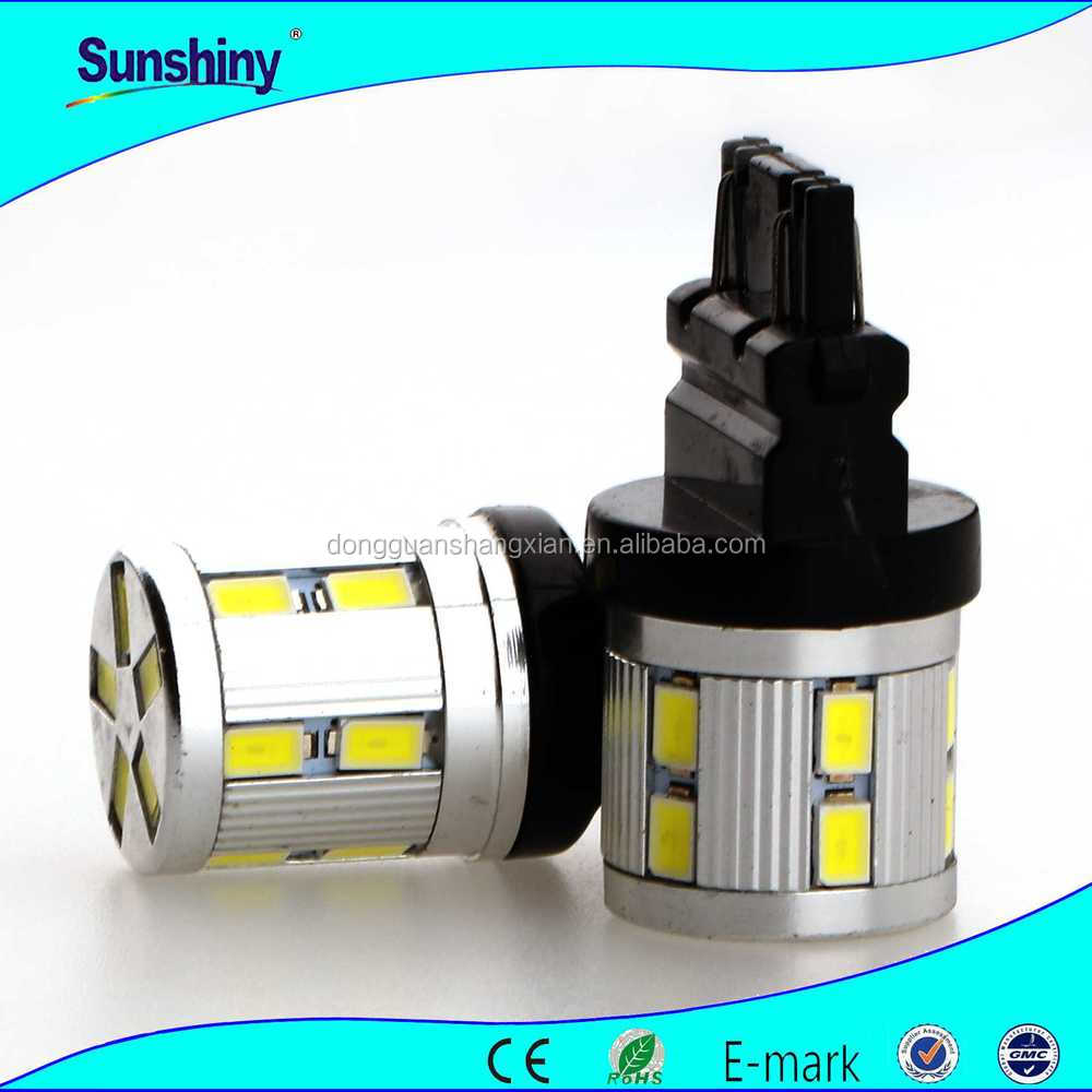 Super Bright 12V car led bulbs high power 6W T20 SMD 5630 12LEDs fog lights