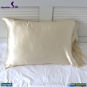 Alibaba OEM Promotional Luxury Colorful Silk Pillow Covers