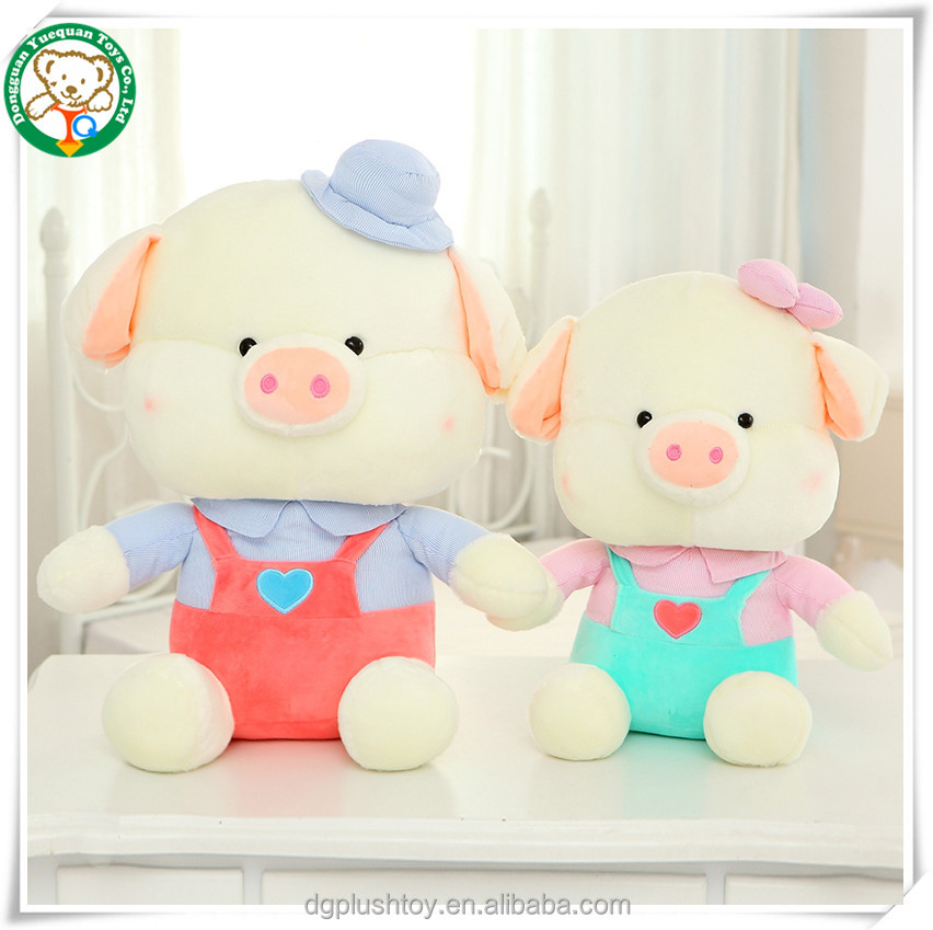 Wholesale stuffed pig toys for kids