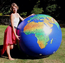 Inflatable 72 inch Inflatable Dark Blue TOPOGRAPHICAL Earth Globe