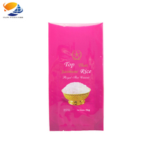 Factory sugar flour rice packing plastic bags Custom Design Printed Different Size 1kg 2kg 5kg 10kg Rice Packing bag for flour