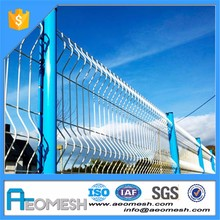 Green or white removable edging welding garden fence