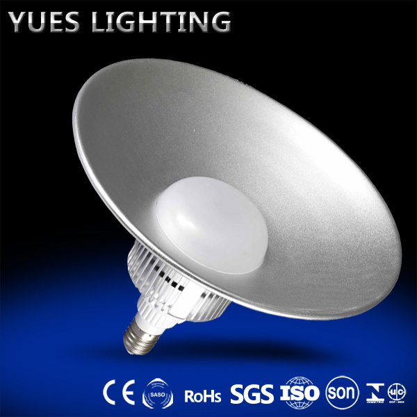 good quality 2 year warranty 70W AC 85-265V led high bay light 6400K E27 base CE/ROHS