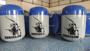 Customized Inflatable Archery Tag Paintball Bunker