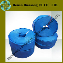 Water distribution roll up hose, flexible hose rolls
