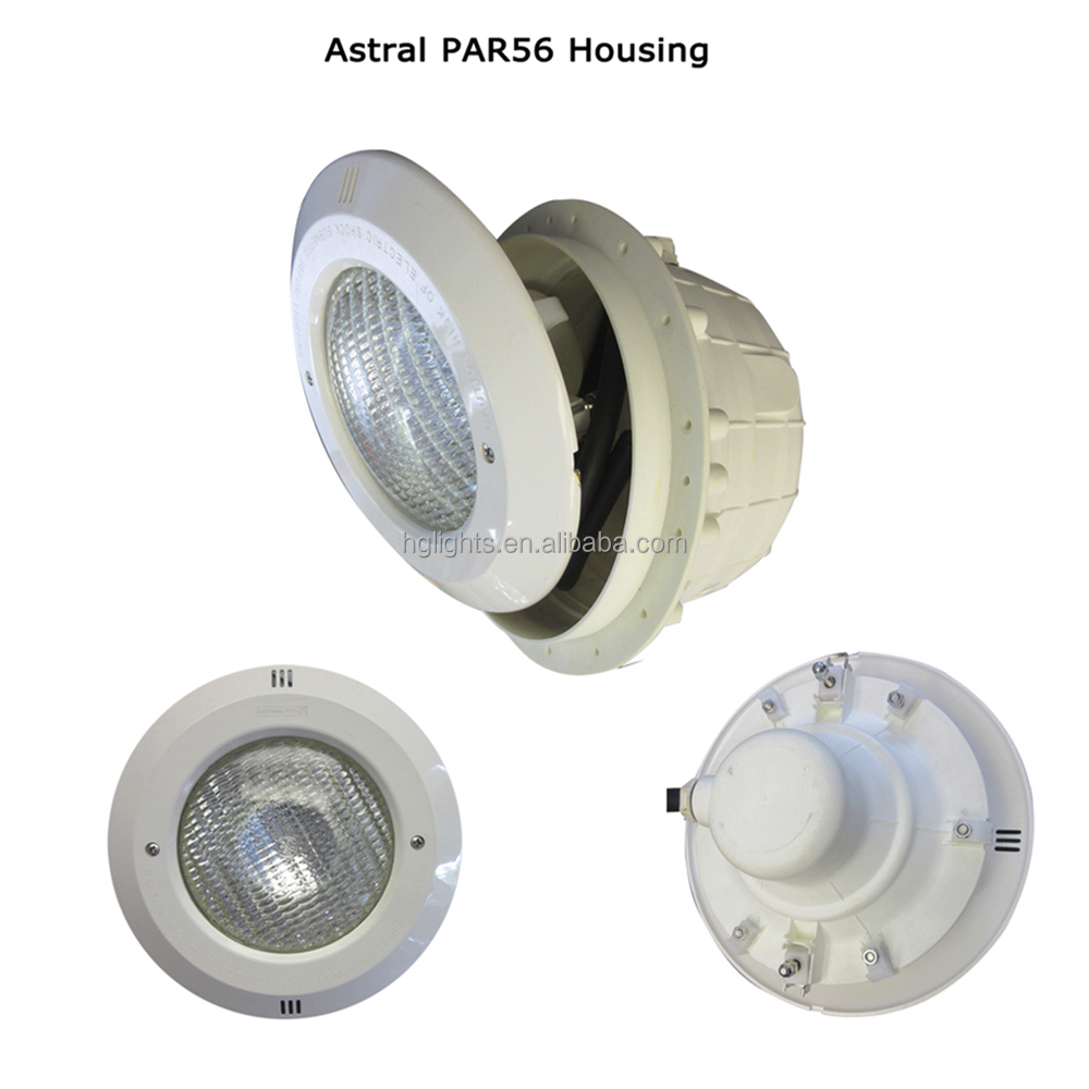 Warm/Cool White Color 3000K~6000K IP68 Waterproof ABS Plastic Housing LED Par56 Swimming Pool Light 15W 900LM w/ Screw Connector