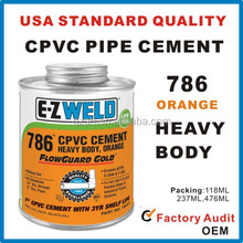 USA QUALITY CPVC PIPE CEMENT/High quality PVC glue