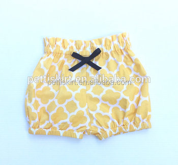 Baby and kids clothing geometrical shorts kids underwear baby clothes