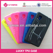 sublimation cell phone cases for LG E975 optimus g phone cover