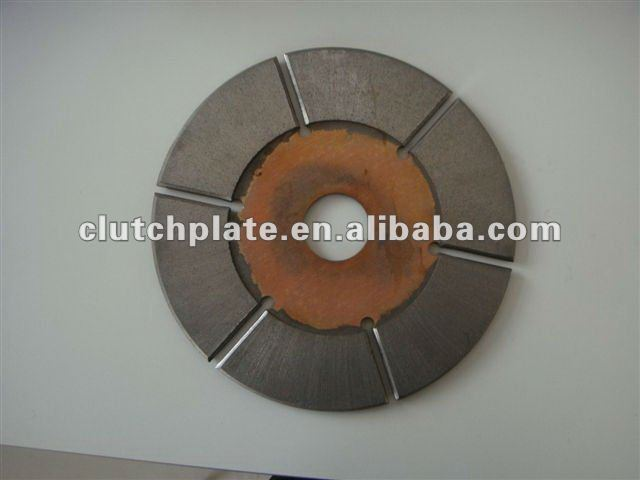 Brake plate (Iron based sintered material) for construction and agricultural machine