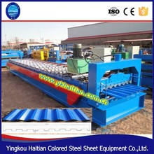 China top Steel Corrugated Color Coated Roofing Tile Forming Machine Corrugated Cold Roofing Steel Panel Making Machine