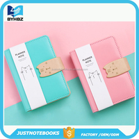 School Supplies Leather Notebook For Kids