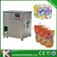25ml-500ml spout water fruit juice jelly yogurt beverage pouch filling sealing packing machine