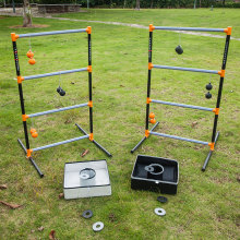 3 In 1 lawn game set- Ladder Toss Game , bean bag toss game, washer toss combo game