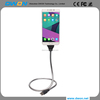 Lazy Bracket Micro USB Charging Cable Anti-Fracture Car Dock flexible cable wire Coiled Holder for Iphone for Android for Type c