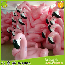 factory supply moq 1pc en71 standard pool float flamingo inflatable 0.3mm eco-friendly PVC flamingo pineapple swan float