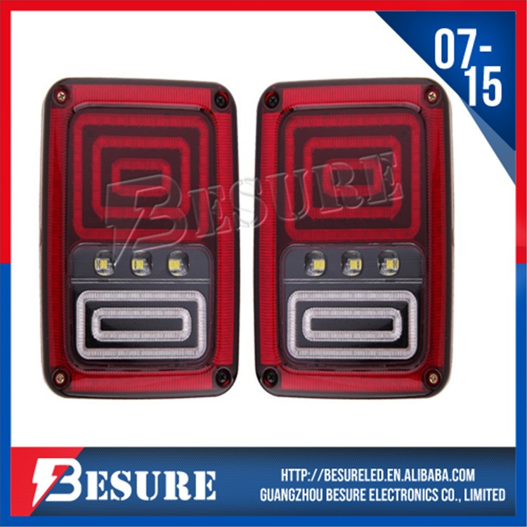 New Product LED Rear Brake Tail Light High Quality LED Reverse Signal Lamp For Jeep Wrangler