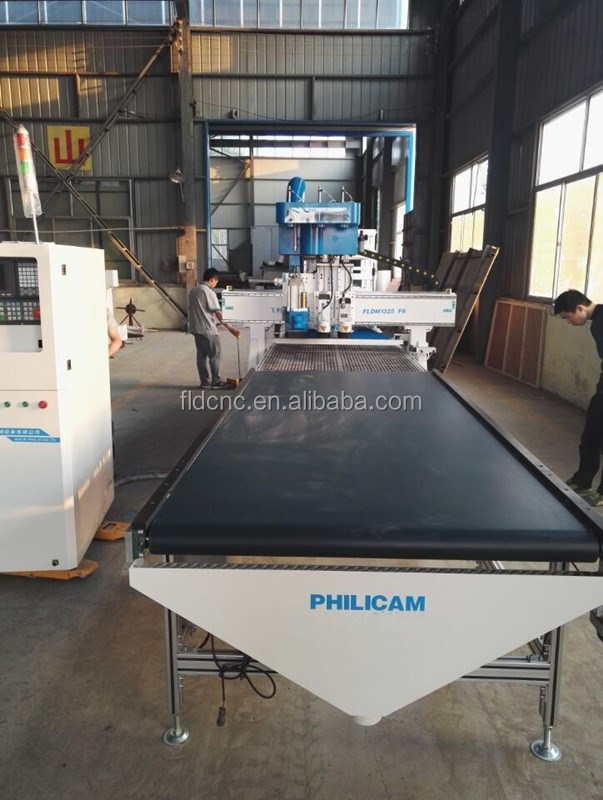 Cabinet cnc router atc wooden door making machine