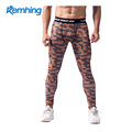 New European and American men's camouflage printed leggings and stretch pants with a quick dry air ventilation training exercise