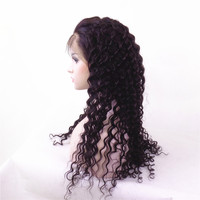factory wholesale 100% Brazilian human hair full lace wig for black women, cheap human hair wig wholesale