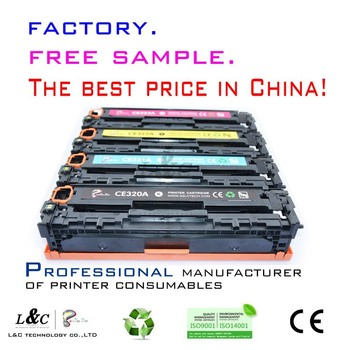 Color Toner Cartridge CE320A-CE323A CB540-CB543 for HP Cm1415/Cp1525 Cp1215/1515n/1518ni