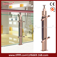 Typhoon Household Use Balcony Railing Designs Stainless Steel Wire Railing System