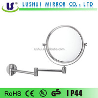Dual wall solid brass hotel decorative wash basin mirror