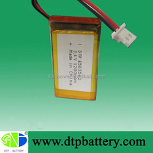 Factory prices rechargeable 7.4v 1200mah li-ion battery pack