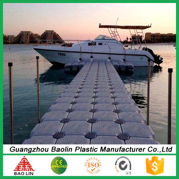 Ocean HDPE Plastic Modular Marine Used Floating Docks Sale