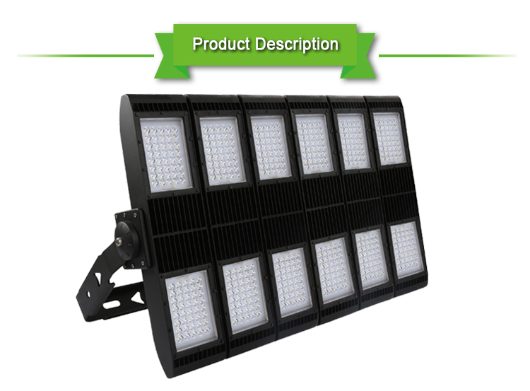 1000w LED High Mast Floodlight,1000 watt Flood Light for Sport Court Lighting