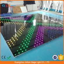 Moved stage/club/disco led digital dance floor/Interactive video dance floor led lighted floor tiles for wedding and party