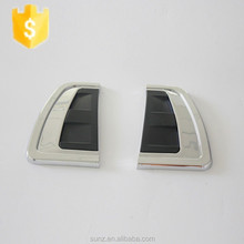 ABS Chromed side vent cover for toyota hilux revo 2015-new side lamp cover best selling car 4x4 accessories