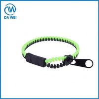 Factory Main Products! low price long chain plastic cover zipper fast shipping